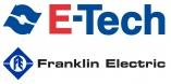 Franklin Electric E-tech logo Borehole Pumps and Motors